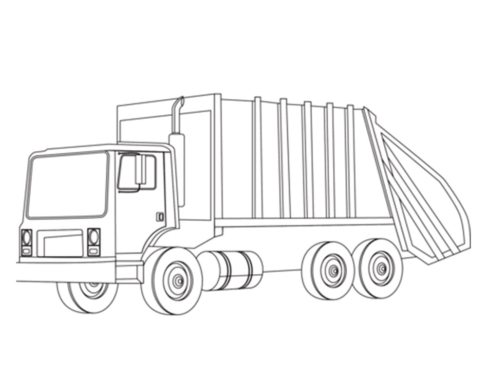 garbage truck onboard weighing system