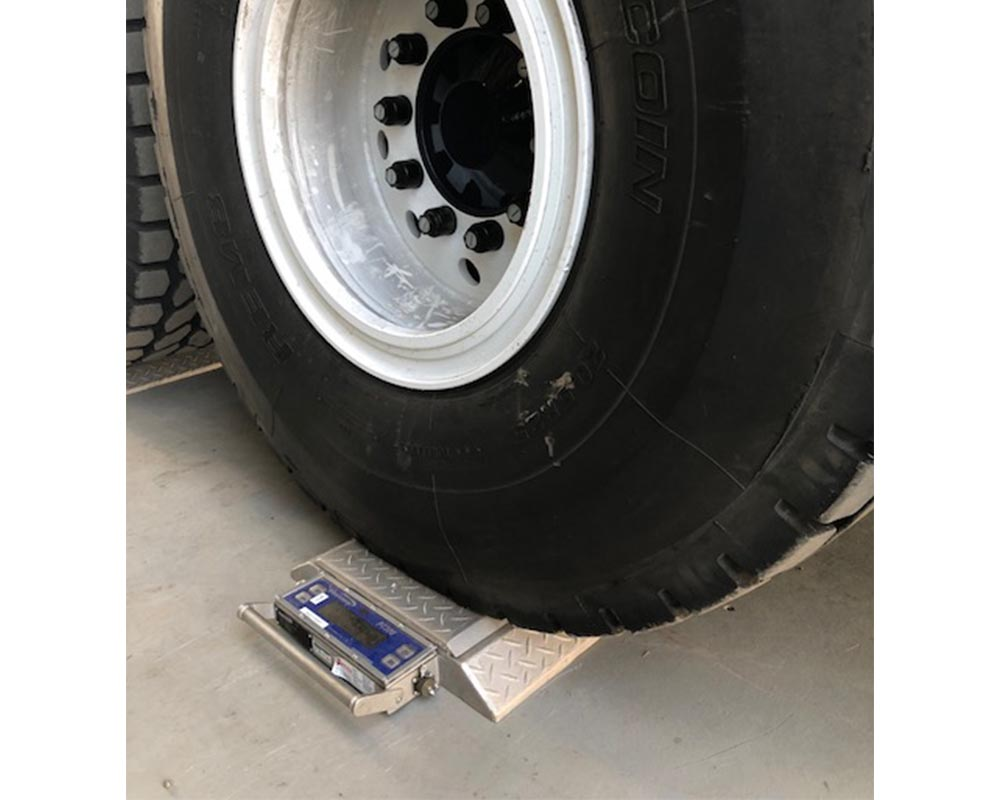 truck scales weigh pads