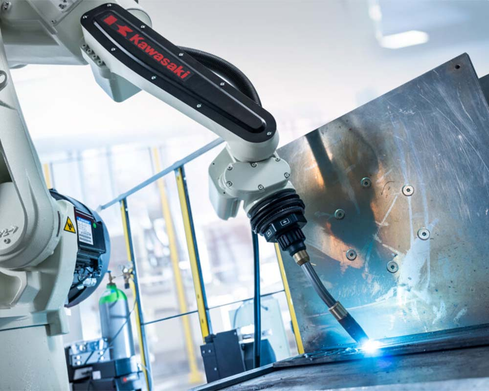 kawasaki welding robot for arc